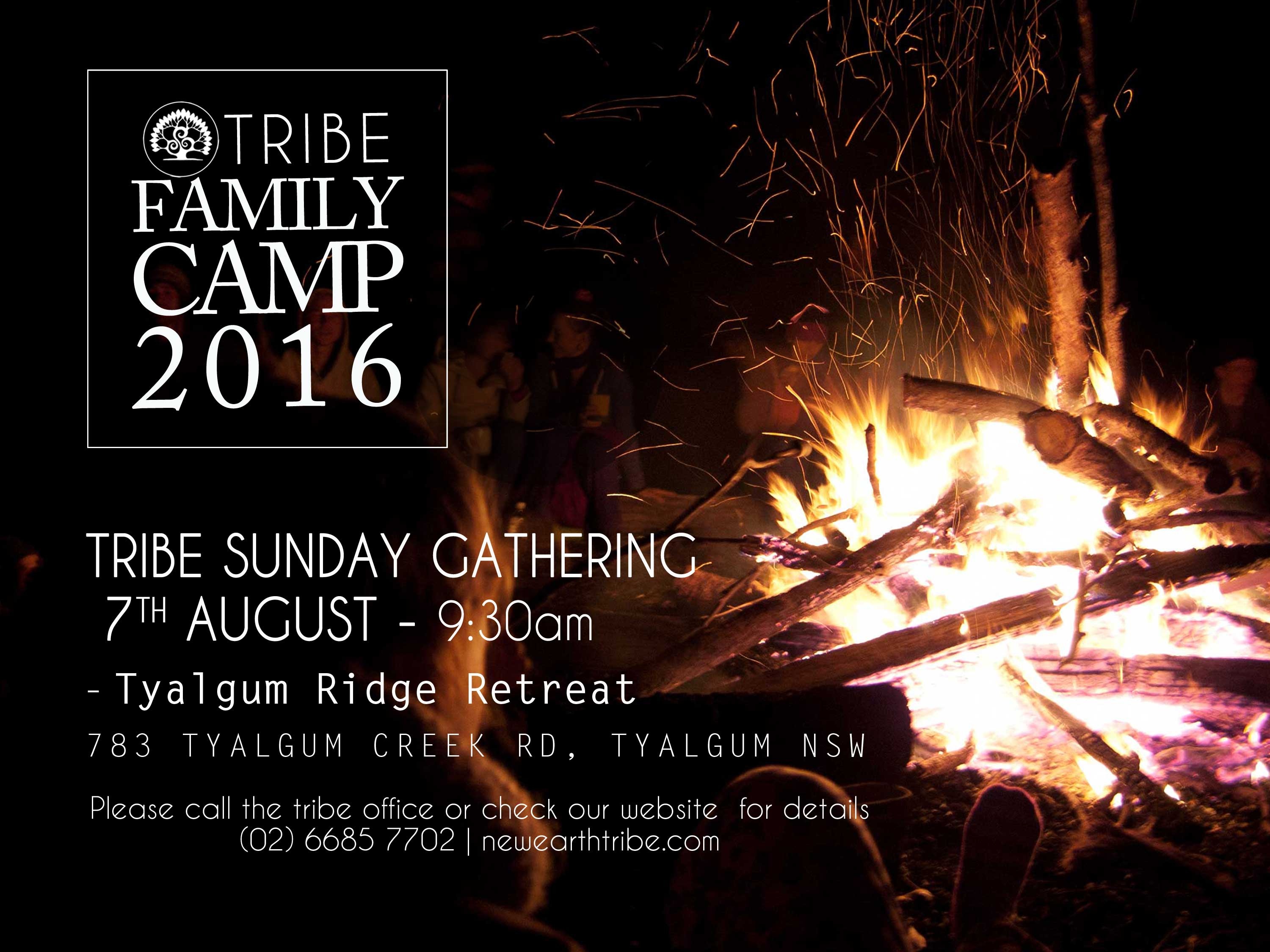 Tribe SUNDAY Gathering 7th August